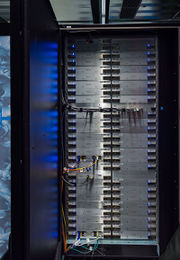High Performance Computing Center Stuttgart HLRS 2015 04 Cray XC40 Hazel Hen blades.jpg