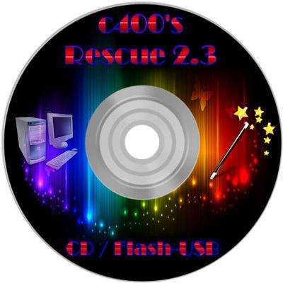 C400s rescue cd v41